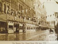 Monster Fair, Chapel Street, Prahran, 1918