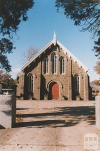 Welsh Carmel Presbyterian Church (1861) opposite Vale Street, Sebastopol, 2010