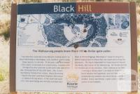 Black Hill Koorie Heritage sign, 2010