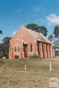 Former church, Natte Yallock, 2010