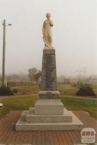 Memorial, Jeparit, 2010