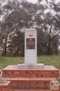 War Memorial, Bamawm, 2010