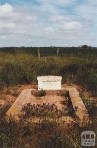 Cemetery Grave, Budgerum, 2010