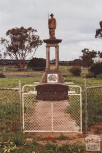 War Memorial, Berriwillock, 2010