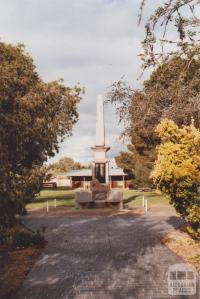War Memorial, Wycheproof, 2010