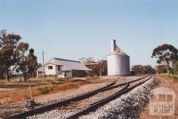 Railway and Silos, Teddywaddy, 2010