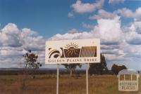 Sign, Golden Plains Shire, 2010