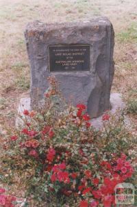 War Memorial, Lake Bolac, 2011