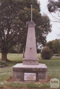 Count Strzelecki Memorial, Mirboo North, 2012