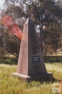 Major Mitchell Monument, Chiltern Valley, 2012
