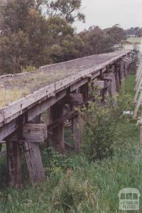 Former Railway Trestle Bridge, Meeniyan, 2012