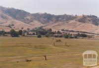 Old Tallangatta across Hume Dam, 2006