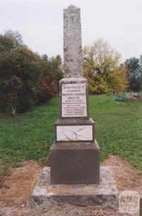 Boer War Memorial, Cudgewa, 2010