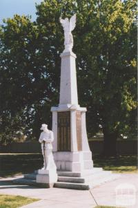 War Memorial, Numurkah, 2011