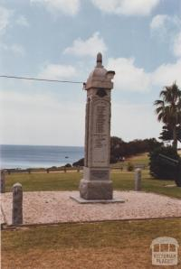 War Memorial, Portarlington, 2012