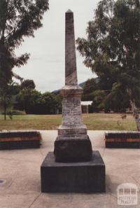War Memorial, Montrose, 2012