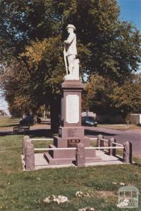 War Memorial, Romsey, 2012