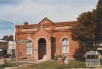 Former Mechanics Institute, Nathalia, 2012
