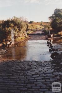 Cobbledicks Ford, Weribee River, 2012