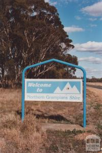 Welcome Sign, Northern Grampians, 2012