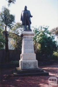 Sir Thomas Bent Statue, Nepean Highway, Brighton