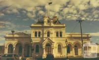 Town Hall, Eaglehawk, 1980