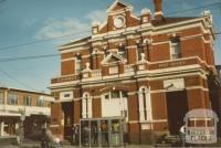 Former Post Office (1891), next to railway station, Elsternwick, 1980