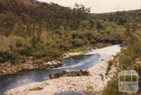 Mitta Mitta River, Dartmouth Dam, 1980