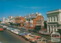 View along Vincent Street, main street of Daylesford, 1967