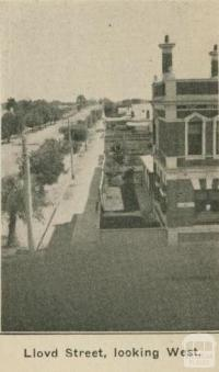 Lloyd Street, looking west, Dimboola