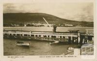 View of Arthur's Seat from the pier, Dromana, 1924