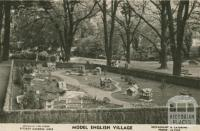Model English Village, Fitzroy Gardens, East Melbourne