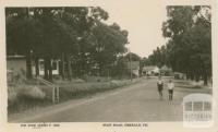 Main road, Emerald, 1945