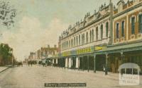 Barkly Street, Footscray, 1908