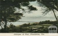 Glimpse of pier, Frankston