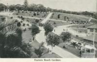 Eastern Beach Gardens, Geelong, 1948