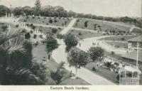 Eastern Beach Gardens, Geelong, 1948