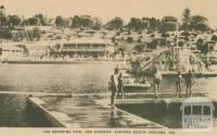 The Swimming Pool and Gardens, Eastern Beach, Geelong