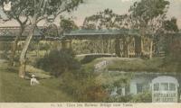 Glen Iris Railway Bridge over Yarra, Toorak, 1908