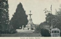 Fountain and Gardens, Hamilton