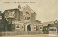 Presbyterian Church and School, Hawthorn