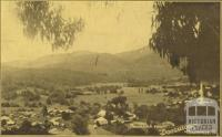 Panorama from 'Doogallook', Healesville