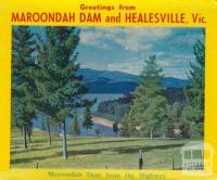 Maroondah Dam from the Highway, Healesville
