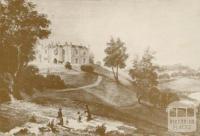 Banyule Homestead, Heidelberg, c1850