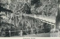 Suspension Bridge, Hepburn Springs