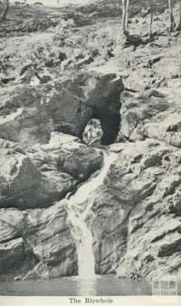 The Blowhole, Hepburn Springs
