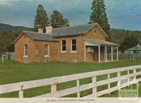 100 years old courthouse, police station, Jamieson