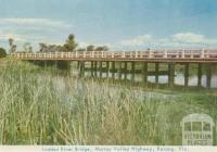 Loddon River Bridge, Murray Valley Highway, Kerang, 1965