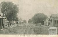 Allan Street Kyabram from western end