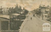 Allan Street, Kyabram looking east, 1918